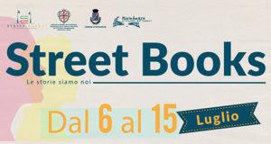 Banner Festival letterario itinerante Street Books, scrittori, lettori e libri - Dolianova - Dal 6 al 15 Luglio 2018 - ParteollaClick
