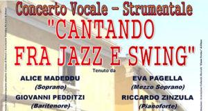 Banner Concerto vocale-strumentale Cantando fra Jazz e Swing all'Ex Montegranatico - Donori - 26 Agosto 2018 - ParteollaClick