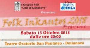 Banner Folk In Kantos, quinta edizione del Concerto di Musica Corale - Dolianova, Teatro Oratorio San Pantaleo - 13 Ottobre 2018 - ParteollaClick