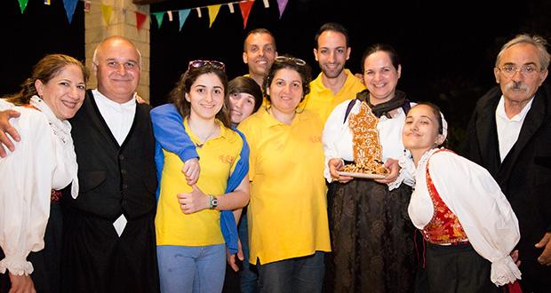 Foto di gruppo alla Quindicesima edizione Maistus et Maistas - Donori - 16 Giugno 2018 - ParteollaClick