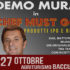 Banner Spettacolo THE CHEF MUST GO ON all' Agriturismo Baccu Cardu - Serdiana - 28 Ottobre 2018 - ParteollaClick