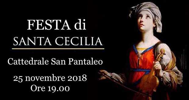 Banner Festa di Santa Cecilia Patrona dei Musicisti - Dolianova, Cattedrale di San Pantaleo - 25 Novembre 2018 - ParteollaClick