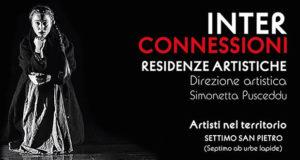Banner Progetto di residenza artistica INTERCONNESSIONI - Settimo San Pietro - Dal 10 al 20 Novembre 2018 - ParteollaClick