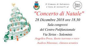 Banner Concerto di Natale di Musiceverywhere - Soleminis, Centro Polifunzionale - 28 Marzo 2018 - ParteollaClick