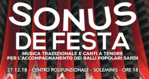 Banner Sonus de Festa - Settimo San Pietro - Soleminis - Ussana - Uta - 26, 27, 28 e 29 Dicembre 2018 - ParteollaClick
