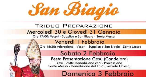 San Biagio Giorno Calendario.Dolianova Festa Della Candelora E Del Patrono San Biagio