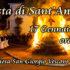 Banner Festa di Sant'Antonio Abate con il tradizionale falò - Donori, Chiesa San Giorgio Vescovo - 17 Gennaio 2019 - ParteollaClick