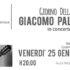 Banner Giacomo Palazzesi in concerto - Dolianova, Aula Magna Istituo Comprensivo Statale - 25 Gennaio 2019 alle ore 20 - ParteollaClick