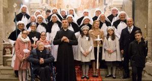 Foto di gruppo per la Festa Madonna della Candelora - Dolianova - San Pantaleo - 2 Febbraio 2019 - ParteollaClick