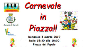 Banner Carnevale Barralese 2019 - Barrali - 3 Marzo 2019 - ParteollaClick