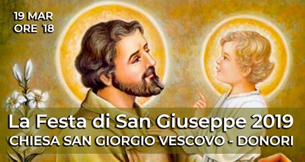 Banner Festa del Papà in Oratorio, in occasione di San Giuseppe - Donori - 19 Marzo 2019 - ParteollaClick
