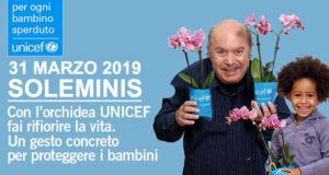 Banner L'orchidea UNICEF a favore dei bambini - Soleminis - 31 Marzo 2019 - ParteollaClick