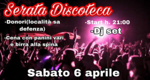Banner Dance Party nel Parco della Chiesetta di Sa Defenza - Donori - 6 Aprile 2019 - ParteollaClick