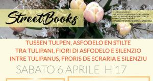 Banner Passeggiata letteraria TRA TULIPANI, FIORI DI ASFODELO E SILENZIO - Dolianova - 6 Aprile 2019 - ParteollaClick
