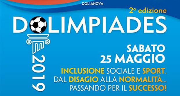 Banner 2ª edizione DOLIMPIADES, sport, impegno sociale, spettacoli, cabaret, musica e convegni - Dolianova - 25 Maggio 2019 - ParteollaClick