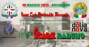 Banner 6° Vespa Raduno - Dolianova, Piazza Brigata Sassari - 19 Maggio 2019 - ParteollaClick
