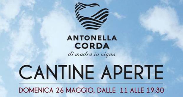 Banner Antonella Corda, di madre in vigna, Cantine Aperte 2019 - Serdiana - 26 Maggio 2019 - ParteollaClick