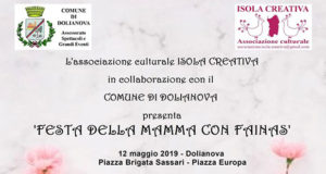 Banner FESTA DELLA MAMMA CON FAINAS, mercatini, laboratori e stand creativi - Dolianova - 12 Maggio 2019 - ParteollaClick