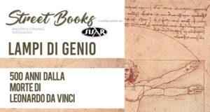 Banner LAMPI DI GENIO, laboratorio creativo e di lettura per i 500 anni dalla morte di Leonardo da Vinci - Dolianova, Biblioteca Comunale - 15, 22 e 27 Maggio 2019 - ParteollaClick