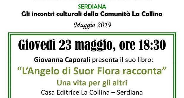 Banner Presentazione del libro L'Angelo di Suor Flora racconta, di e con Giovanna Caporali - Serdiana, Località S'Otta - 23 Magio 2019 - ParteollaClick