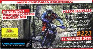 Banner Sesta Prova del Campionato Sardo 2019 Enduro ASI - Dolianova, Parco Fluviale - 12 Maggio 2019 - ParteollaClick