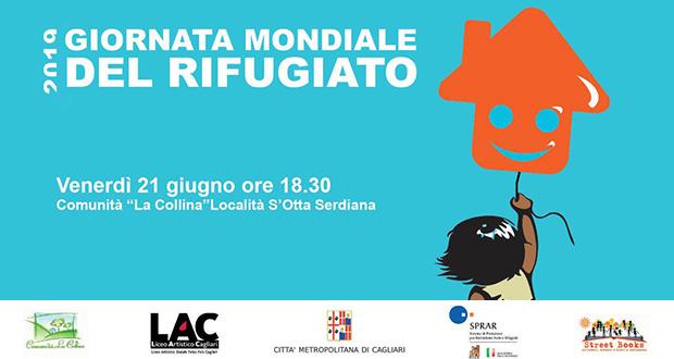 Banner 13ª edizione della Giornata Mondiale del Rifugiato - Serdiana - 21 Giugno 2019 - ParteollaClick