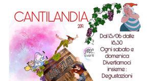 Banner Cantilandia, il fine settimana alle Cantine di Dolianova per un'estate da favola - Dolianova - Dal 15 Giugno al 28 Luglio 2019 - ParteollaClick