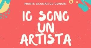 Banner IO SONO UN'ARTISTA, mostra d'arte dei bambini della Scuola dell'Infanzia - Donori - 5 e 6 Giugno 2019 - ParteollaClick