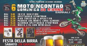 Banner Sesto Motoincontro e Festa della Birra dei Barraikers - Barrali - 29 e 30 Giugno 2019 - ParteollaClick