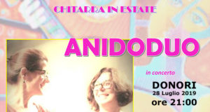 Banner CHITARRA IN ESTATE, ANIDODUO in concerto - Donori - 28 Luglio 2019 - ParteollaClick