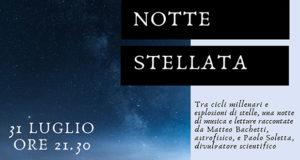 Banner NOTTE STELLATA tra cicli millenari, esplosioni di stelle, musica e letture - Dolianova - 31 Luglio 2019 - ParteollaClick