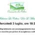 Banner Reading letterario musicale Parole e Musiche per parlare di Accoglienza e Solidarietà - Serdiana - 3 Luglio 2019 - ParteollaClick