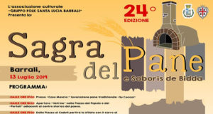 Banner XXIVª Sagra del Pane - Barrali - Sabato 13 Luglio 2019 dalle ore 17 - ParteollaClick