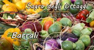 Banner Sagra degli ortaggi - Barrali, Piazza del Popolo - 31 Agosto 2019 - ParteollaClick