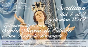 Banner Festeggiamenti in onore di Santa Maria di Sibiola e San Raffaele Arcangelo 2019 - Serdiana, Chiesa di Santa Maria di Sibiola - Dal 4 al 9 Settembre 2019 - ParteollaClick
