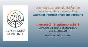 Banner La giornata Internazionale del Perdono - Comunità La Collina, Serdiana, Località S'Otta - 18 Settembre 2019 - ParteollaClick
