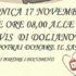 Banner Giornata della Donazione di Sangue 2019 nell'Associazione AVIS in Piazza Amendola - Dolianova - 17 Novembre 2019 - ParteollaClick