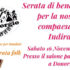 Banner TUTTI INSIEME PER INDIRA, serata folk di beneficenza al Salone Parrocchiale - Donori - 16 Novembre 2019 - Gruppo Folk Parrocchiale San Giorgio Donori