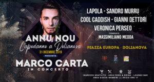 Banner ANNU NOU, il grande CAPODANNO 2020 a DOLIANOVA - Dolianova, Piazza Europa - 31 Dicembre 2019 - ParteollaClick