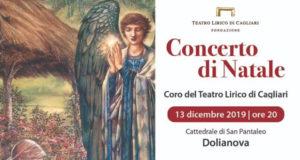 Banner Concerto di Natale del Coro del Teatro Lirico di Cagliari - Dolianova - 13 Dicembre 2019 - ParteollaClick