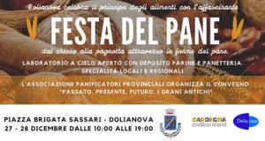 Banner FESTA DEL PANE - Dolianova, Piazza Brigata Sassari - 27 e 28 Dicembre 2019 - ParteollaClick