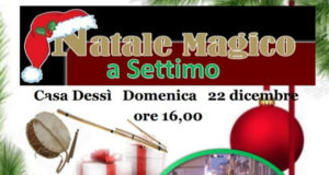 Banner Natale Magico 2019 a Casa Dessy - Settimo San Pietro - 22 Dicembre 2019 - ParteollaClick