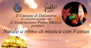 Banner Natale a ritmo di Musica con Fainas, Mercatini di Natale 2019 - Dolianova - 22 Dicembre 2019 - ParteollaClick