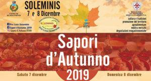 Banner Sapori d'Autunno 2019 - Soleminis, lungo le vie del centro storico - Sabato 7 e 8 Dicembre 2019 - ParteollaClick