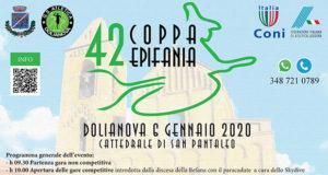 Banner 42ª Coppa Epifania, corsa campestre - Dolianova - 6 Gennaio 2020 - ParteollaClick