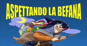 Banner Aspettando la Befana 2020 - Centro di Aggregazione Sociale Serdiana - 4 Gennaio 2020 - ParteollaClick