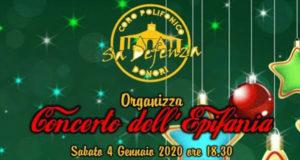 Banner Concerto dell'Epifania 2020 - Chiesa di San Giorgio Vescovo, Donori - 4 Gennaio 2020 - ParteollaClick