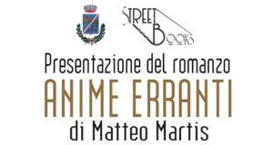 Banner Presentazione del romanzo ANIME ERRANTI di e con Matteo Martis - Dolianova - 18 Gennaio 2020 - ParteollaClick