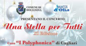 Banner Undicesima edizione del Concerto Una Stella per Tutti - Dolianova - 5 Gennaio 2020 - ParteollaClick