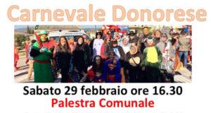 Banner Carnevale Donorese 2020 - Donori, Palestra Comunale - 29 Febbraio 2020 - ParteollaClick